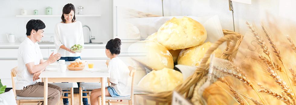 体に優しい無添加生地のパン画像