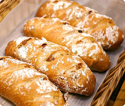 天然酵母でつくられたパンの特長画像
