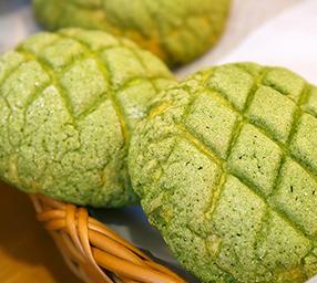 【季節限定】抹茶メロンパン